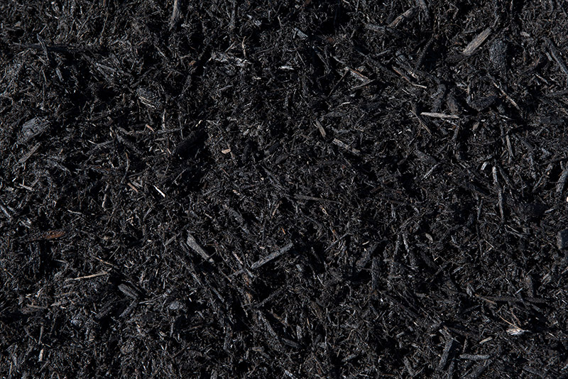 Black Dyed Cypress Mulch