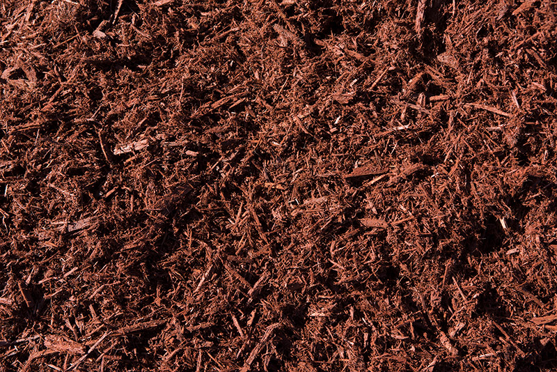 Chestnut Dyed Cypress Mulch