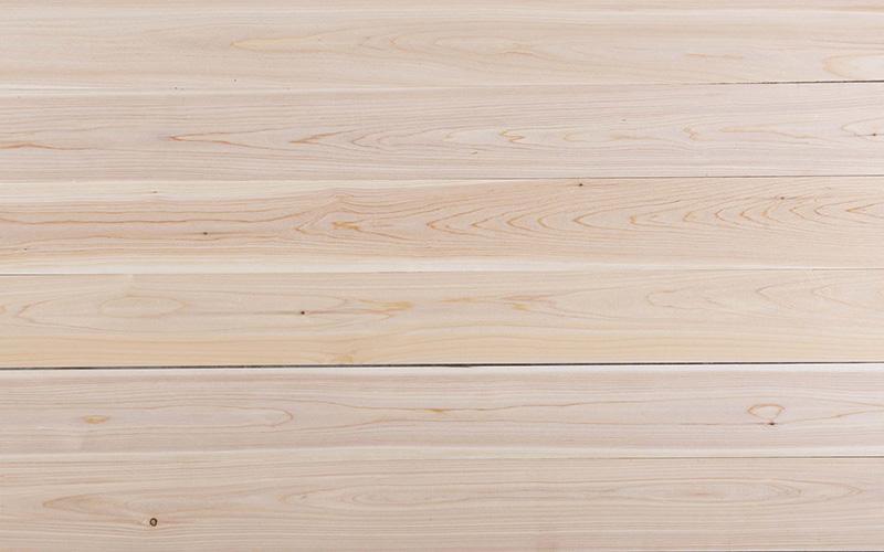 Atlantic White Cedar Select boards grain