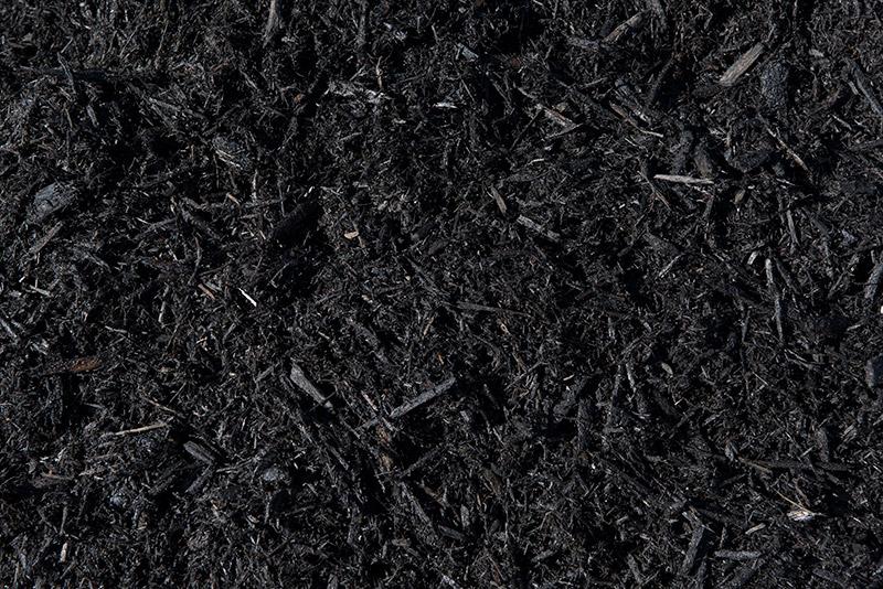 Black Dyed Cypress Mulch