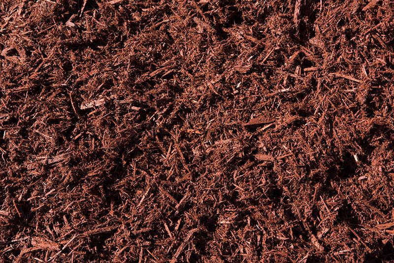 Chestnut Dyed Cypress Mulch