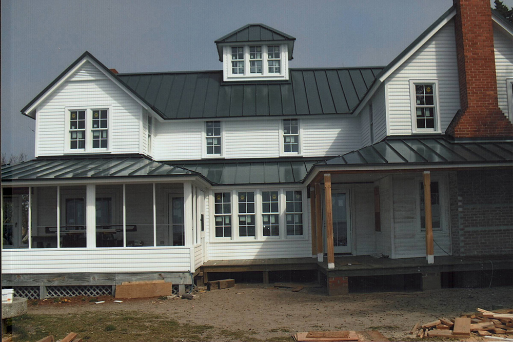 Cypress Select Painted Bevel Exterior
