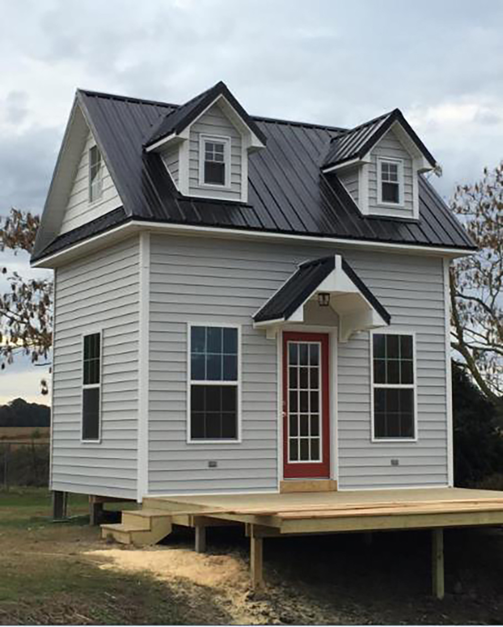 Cypress Select Painted Exterior Bevel Siding