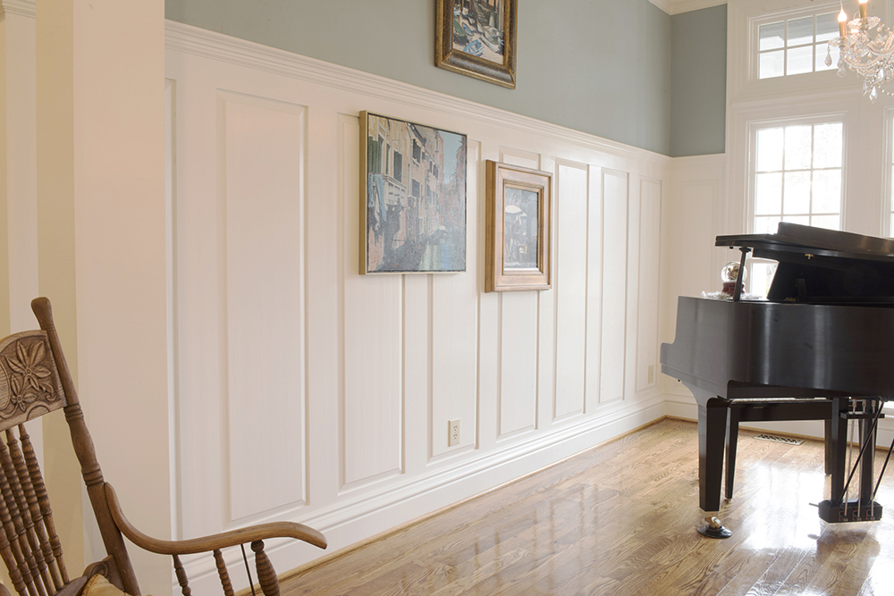 Poplar Select Interior Edge & Center Bead Tongue & Groove Wainscot