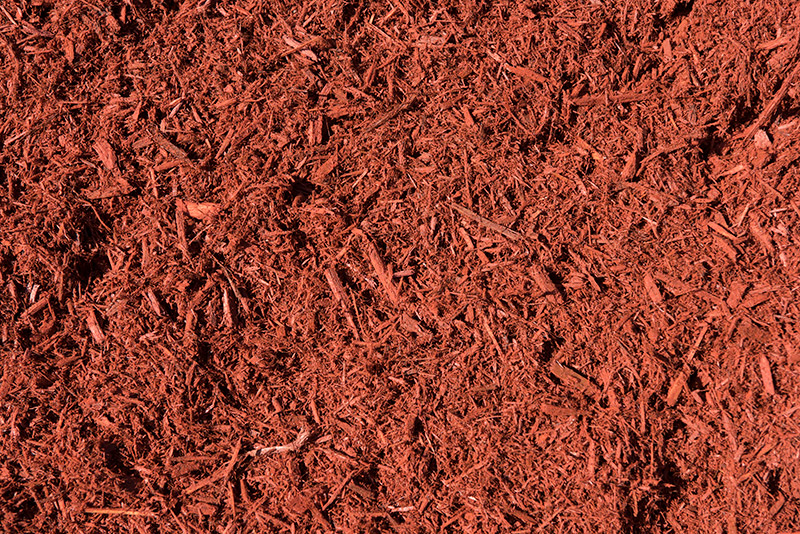 Red Dyed Cypress Mulch