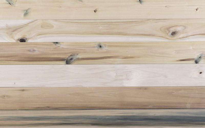 Poplar 2AB wood boards grain view